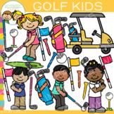 Kids Golf Clip Art