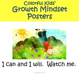 Kids' Growth Mindset Posters