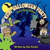 Kids Halloween Party Game & Craft Book & Digital Album Download