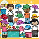 Kids Hat Shop Clip Art