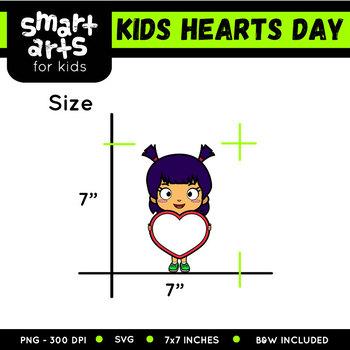 Kids Hearts Day Clip Art