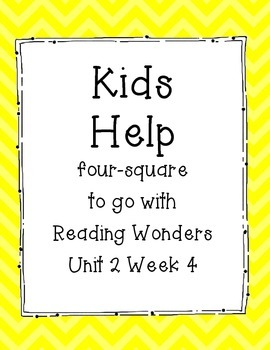 Kids Help Four Square