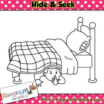 Kids Hide & Seek Clip art