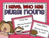 SCOOT Kids I Have, Who Has? for Plural Nouns - meets common core