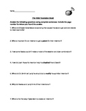 Kids Invention Book Comprehension Questions