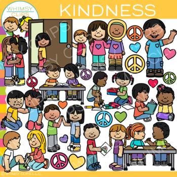Kids Kindness Clip Art