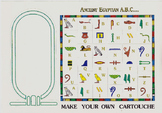 Kids Learn To Write Their Name in the Hieroglyphic Alphabet