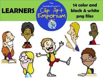 Kids Learning Clip Art - The Schmillustrator's Clip Art Emporium