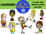 Kids Learning Clip Art - The Schmillustrator's Clip Art Emporium