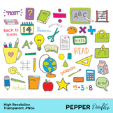 Kids Learning - Doodle Clipart - Transparent PNGs