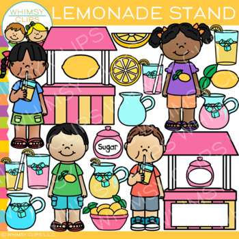 Kids Lemonade Stand Clip Art