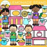Summer Kids Lemonade Stand Clip Art
