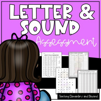 Letter & Sound Assessment {Kid Theme}