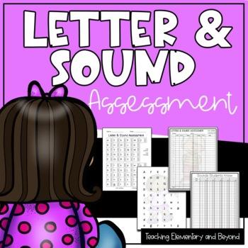 Letter & Sound Assessment {Kid Theme}