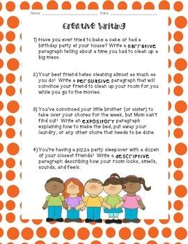 Kids Like Me!  Bob's Story: Reading Comprehension and Writing Skills