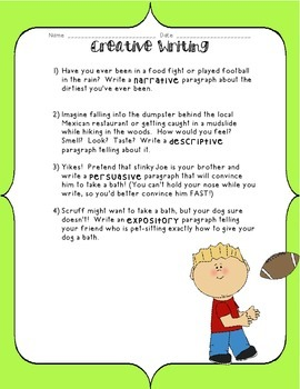 Kids Like Me!  Joe's Story: Reading Comprehension and Writing Skills