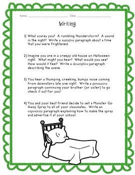 Kids Like Me!  Mark's Story: Reading Comprehension and Writing Skills