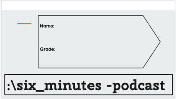 Kids Listen: Six Minutes Podcast Slides