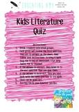 Kids Literature Quiz