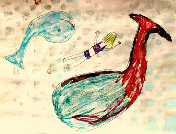 Art and Literacy Project: When I'm Big Fun Stuff Free Draw Lesson Option K-3