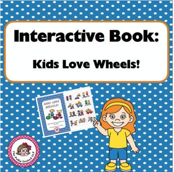 Interactive Book - Kids Love Wheels