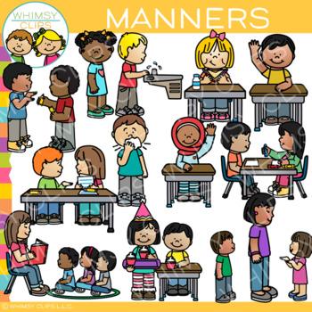 Kids Manners Clip Art