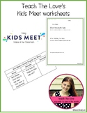Kids Meet worksheets - video companion
