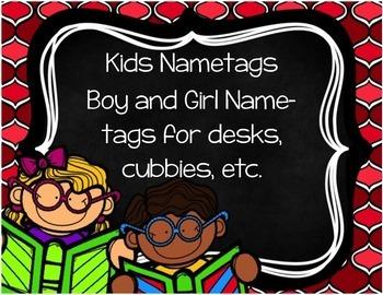 Kids Nametags