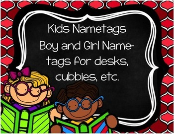 Kids Nametags