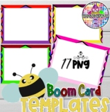 Kids FULL-Page Background Frames, Borders, BOOM Templates