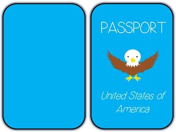 Kids Paper Passport - Travel Unit, Ellis Island, Christmas Around the World