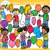 Kids Party Balloon Clip Art