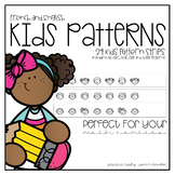 Kids Patterns for English and French Classrooms