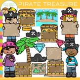 Kids Pirates Treasure Clip Art