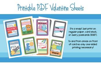 Kids' Printable Valentines