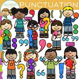 Kids Punctuation Clip Art