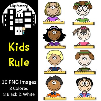 Kids Rule Clip Art
