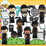 Kids Secret Agent Clip Art