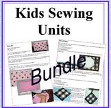 Kids Sewing Unit Bundle