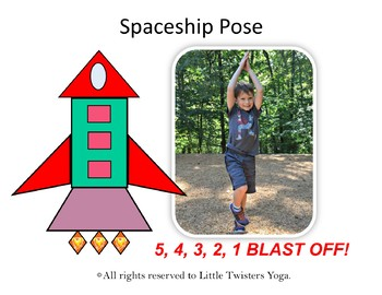 "Kids ""Space Shapes"" Yoga! Geometry with Movement! NEW AND IMPROVED!"