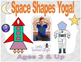 "Kids ""Space Shapes"" Yoga! Geometry with Movement! NEW AND"