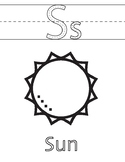 Kids Space + Planets Coloring Pages