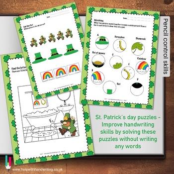 Kids St Patricks Day Puzzles