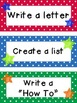 Kids & Star Themed Writing Workshop and Center Display and Ideas