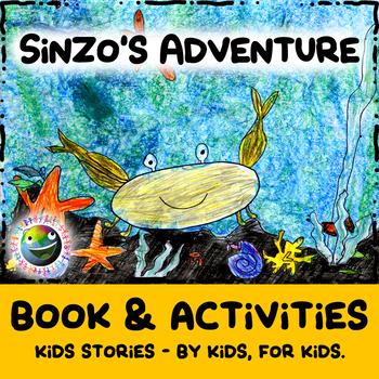 """Kids Stories - """"Sinzo's Adventure"""" - Book & Activities"""