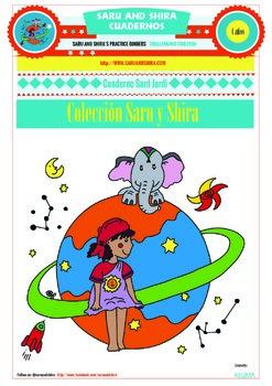 Summer Fun Activities Notebook 4 Years in Spanish