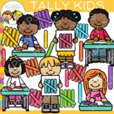 Kids Tally Clip Art
