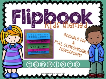 Kids Themed Editable Flipbook
