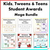 Kids, Tweens, and Teens Student Awards Mega Bundle