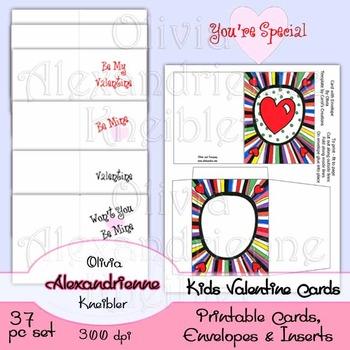 Kids Valentine's Cards